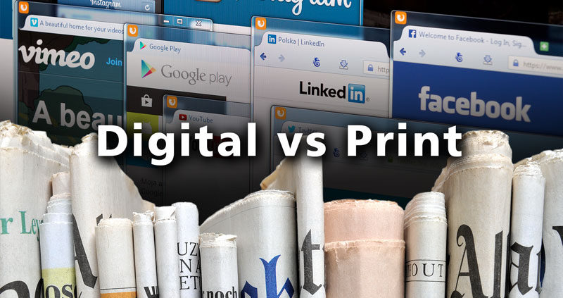 Print eller digital marketing