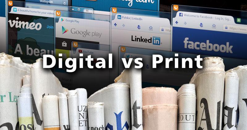 Print eller digital marketing
